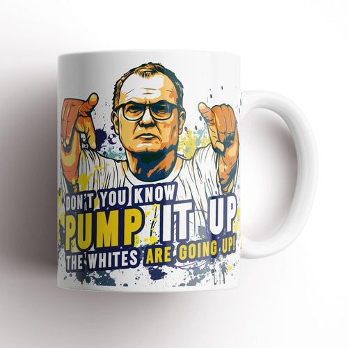Grady Draws Leeds Bielsa Pump It Up Mug