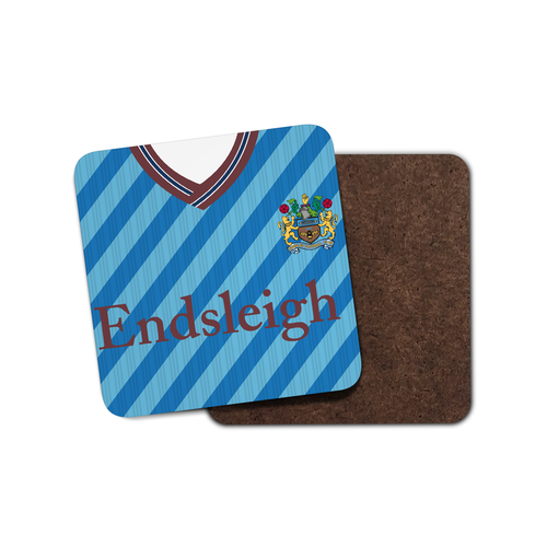 Burnley 1989 Away Coaster-Coaster-The Terrace Store