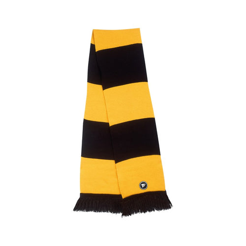 Terrace Gold & Black Bar Scarf