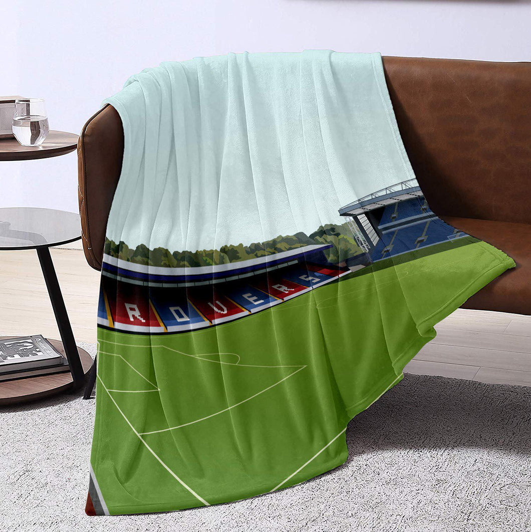 Ewood Park Illustrated Blanket Throw-Blanket-The Terrace Store