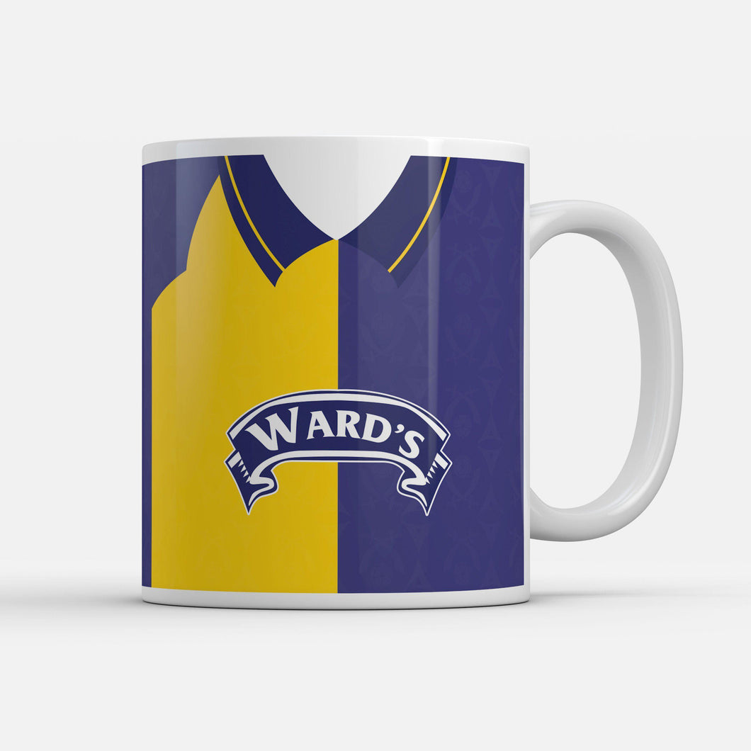 Sheffield United 95 Away Retro Inspired Mug