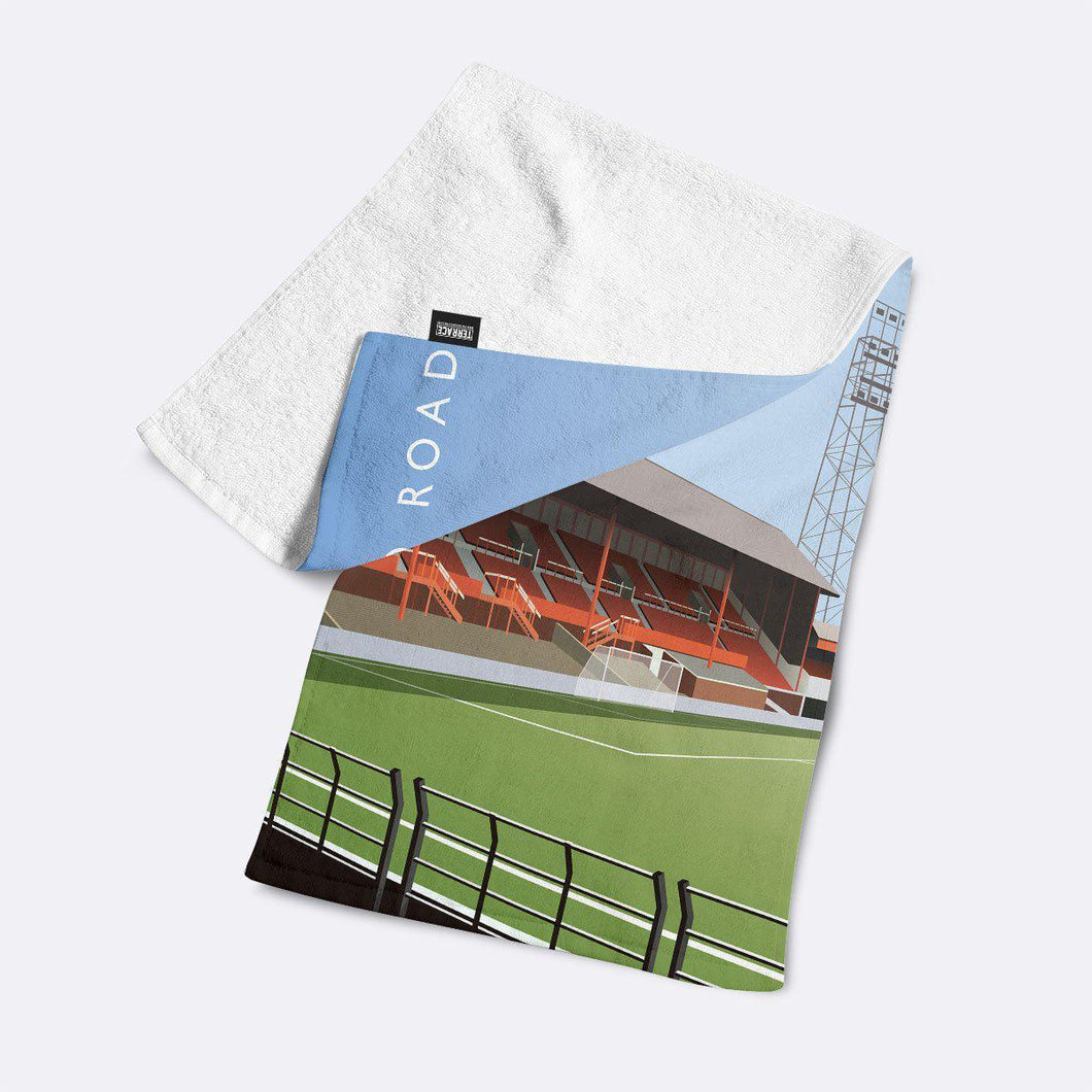 Bloomfield Road Illustrated Towel-Towels-The Terrace Store
