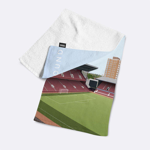 Boleyn Ground Illustrated Towel-Towels-The Terrace Store
