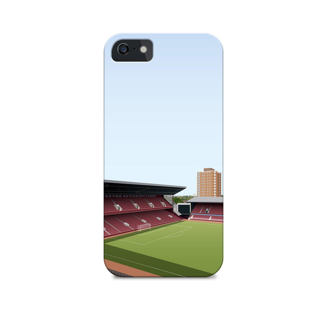 Boleyn Illustrated Phone Case-CASES-The Terrace Store