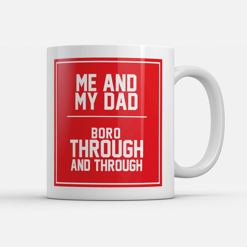 Middlesbrough Fathers Day Mug-Mugs-The Terrace Store