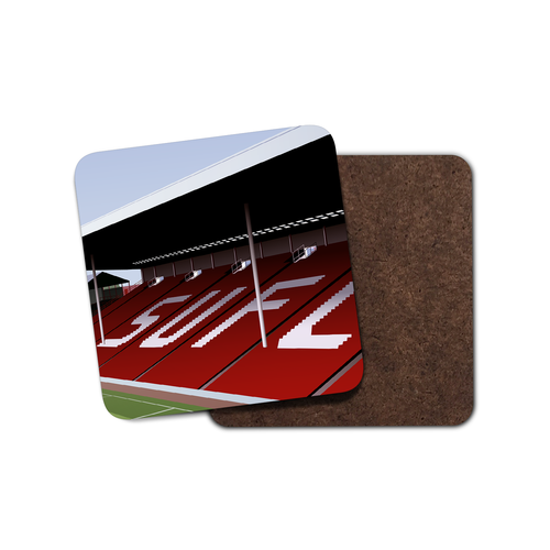 Bramall Lane Illustrated Coaster