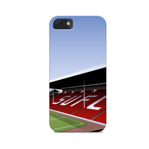 Bramall Lane Illustrated Phone Case-CASES-The Terrace Store