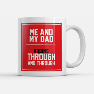 Bristol City Fathers Day Mug