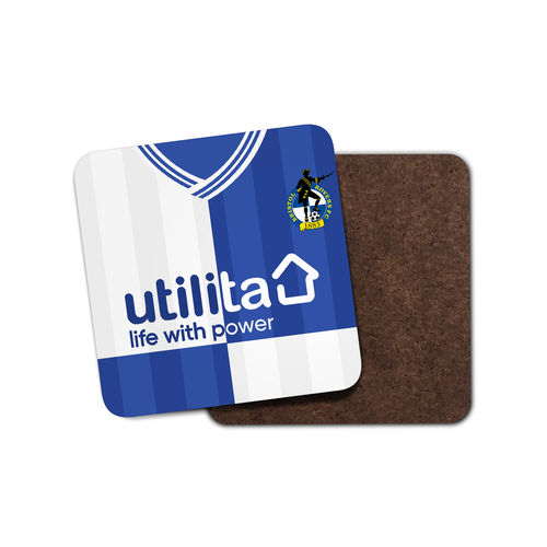 Bristol Rovers 19-20 Coaster-Coaster-The Terrace Store