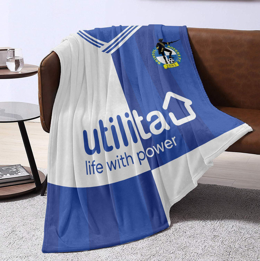 Bristol Rovers 2019 Home Blanket Throw-Blanket-The Terrace Store