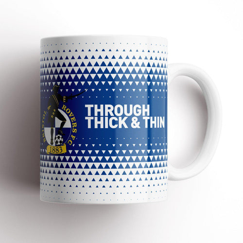 Bristol Rovers Thick and Thin Mug-Mugs-The Terrace Store