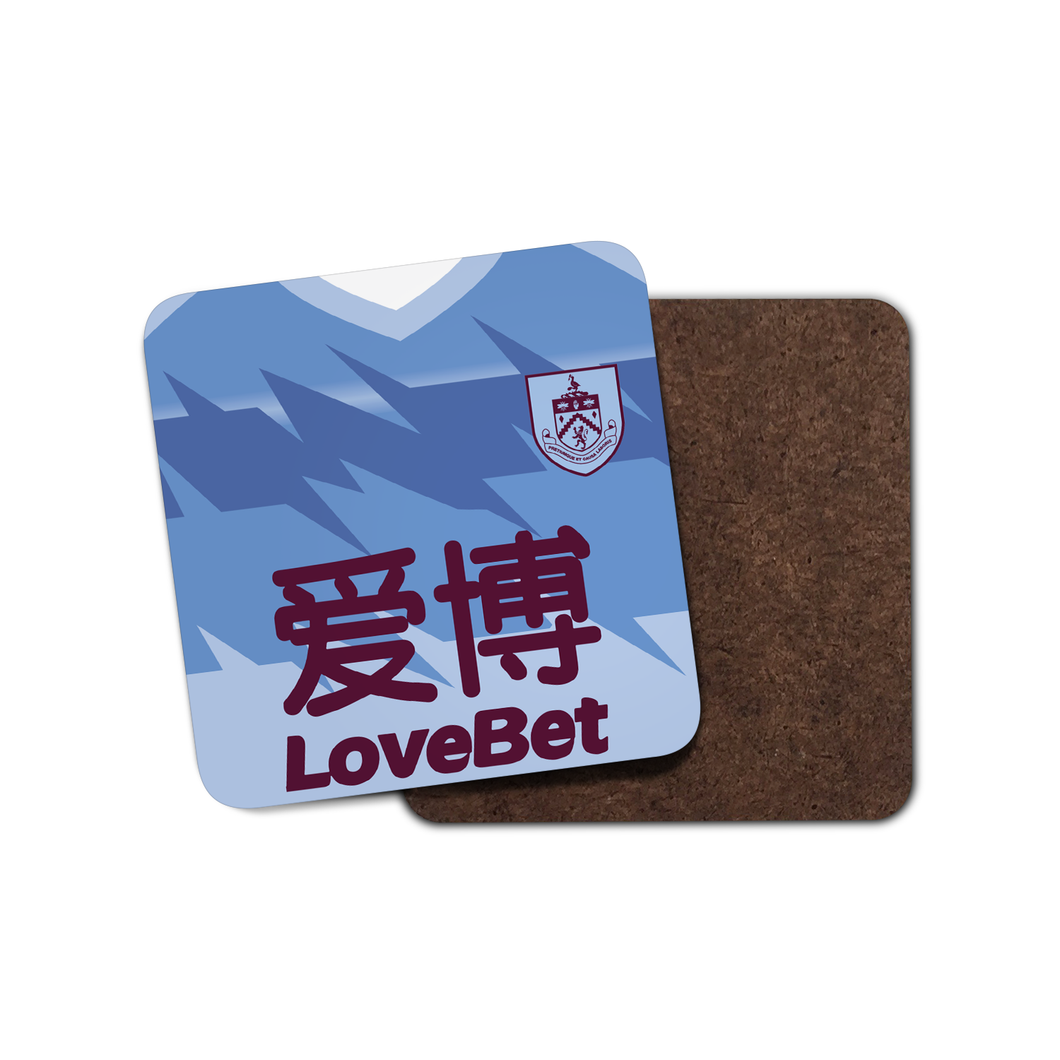 Burnley 19-20 Away Coaster-Coaster-The Terrace Store