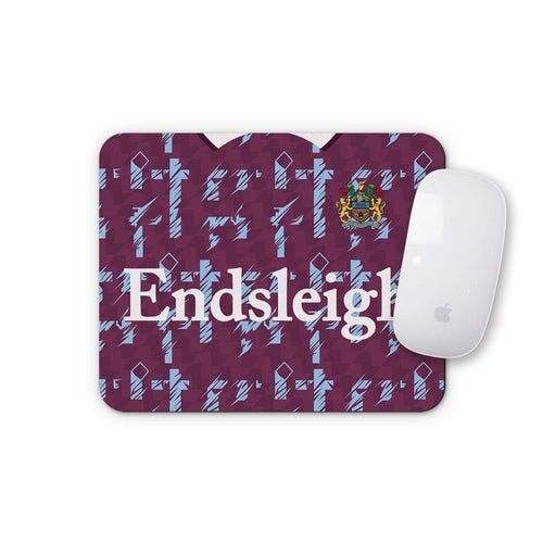 Burnley 1993 Home Mouse Mat-Mouse mat-The Terrace Store