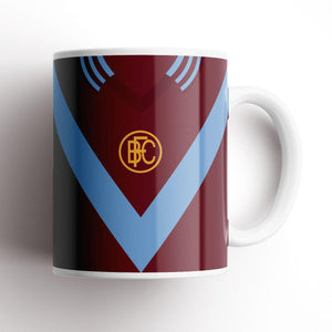 Official Burnley Chevron Retro Mug