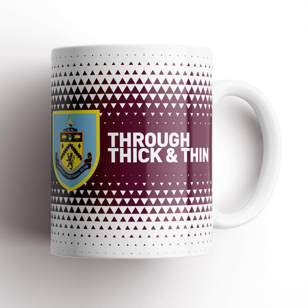 Burnley Thick and Thin Mug-Mugs-The Terrace Store