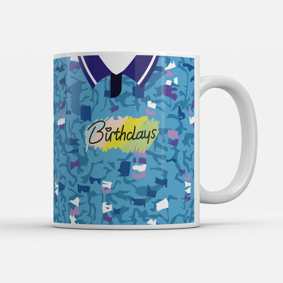 Bury 1993 Away Retro Inspired Mug