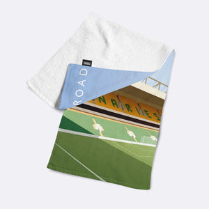 Carrow Road Illustrated Towel-Towels-The Terrace Store