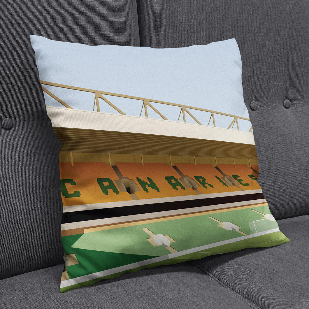 Carrow Road Cushion-Cushions-The Terrace Store
