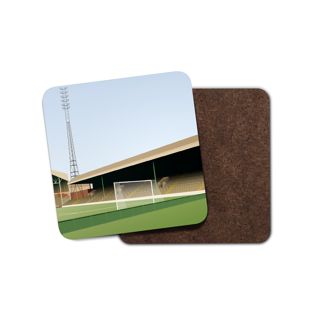 Celtic Park Illustrated Coaster-Coaster-The Terrace Store