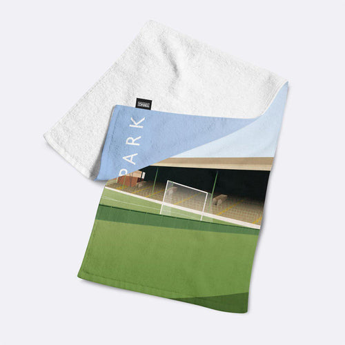 Celtic Park Illustrated Towel-Towels-The Terrace Store