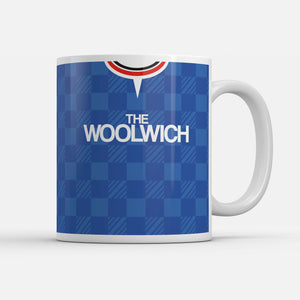 Charlton 1990 Away Retro Inspired Mug
