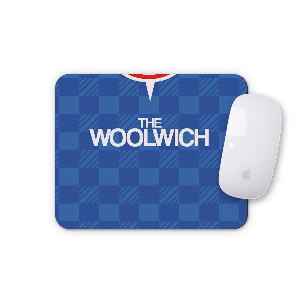Charlton Athletic 1990 Away Mouse Mat-Mouse mat-The Terrace Store