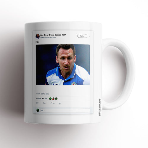 Undr The Cosh Chris Brown Mug