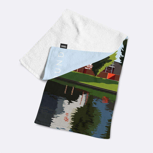 City Ground Illustrated Towel-Towels-The Terrace Store