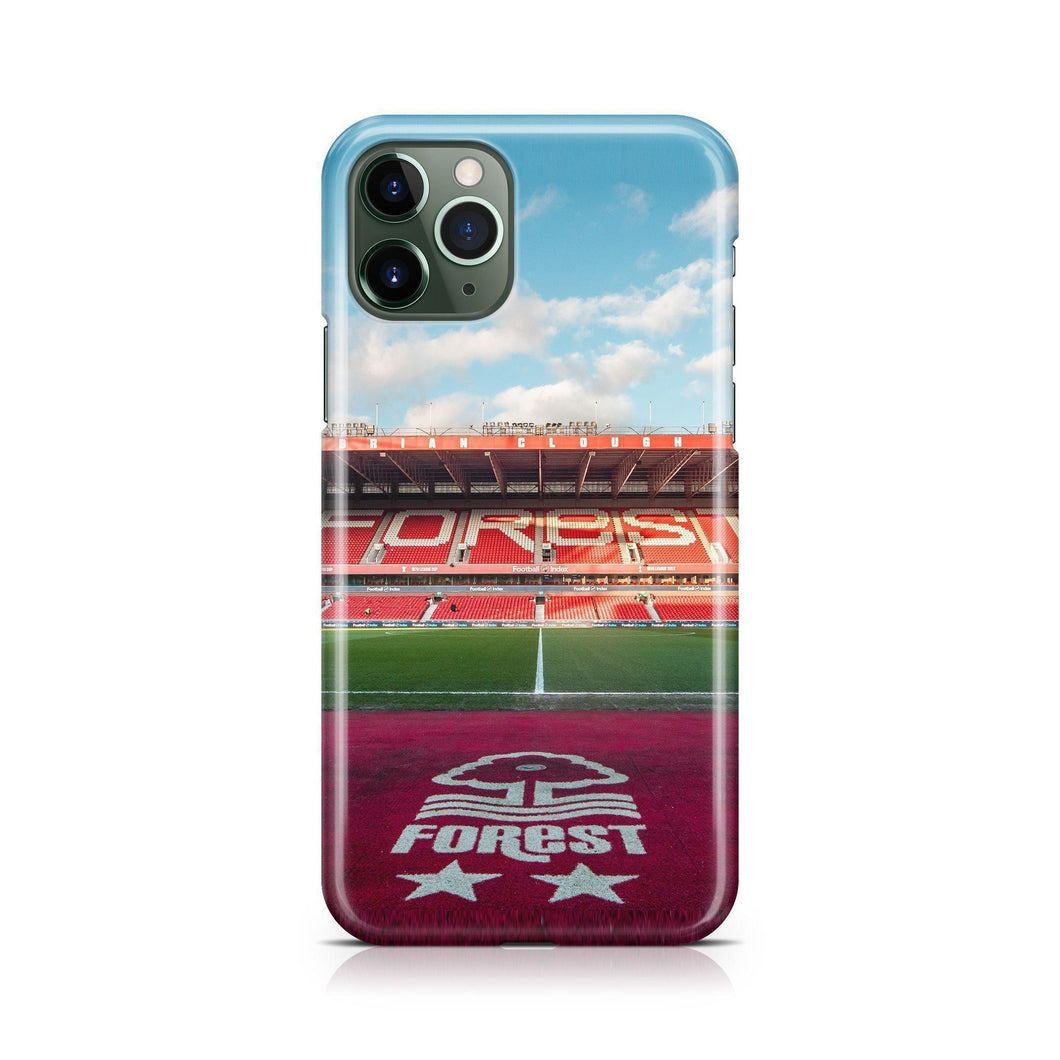 Nottingham Forest Pitch Phone Case-CASES-The Terrace Store