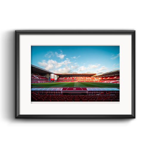 Official Nottingham Forest Dugouts Print