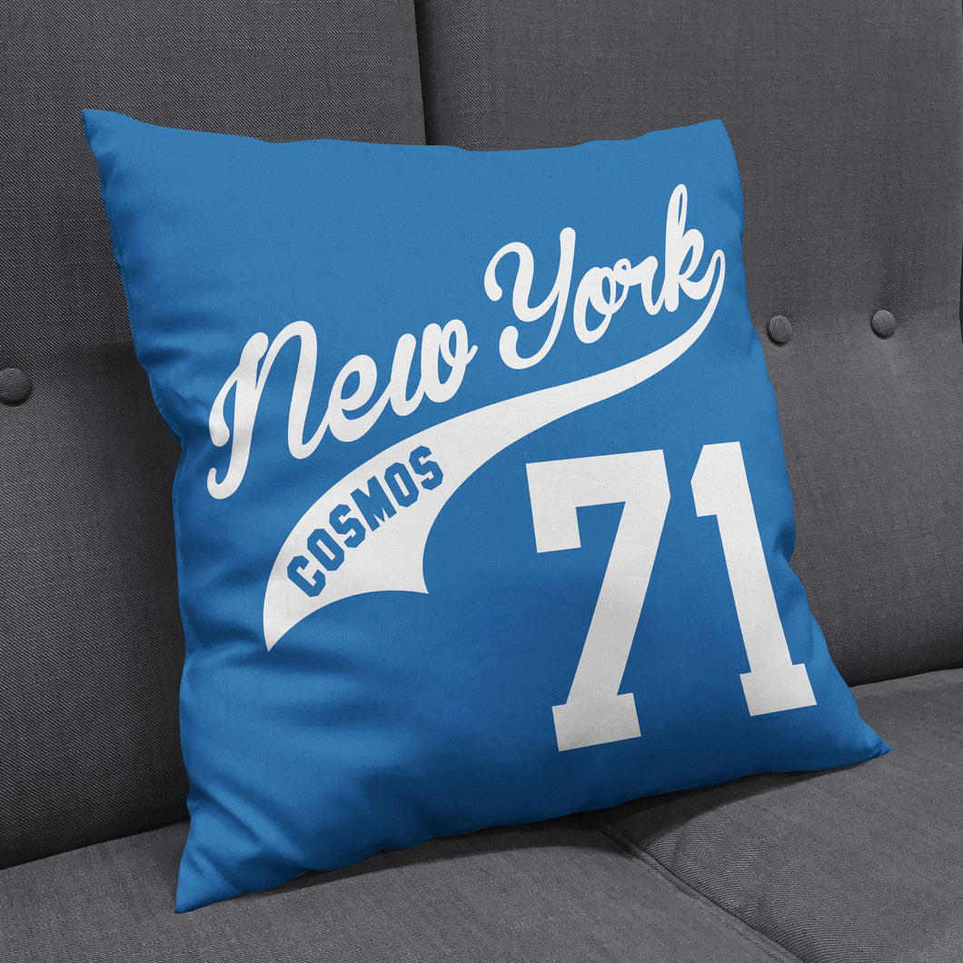 New York Cosmos Blue Cushion