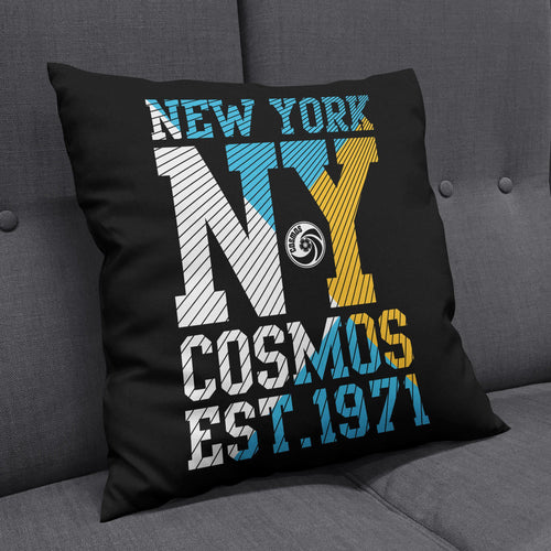 New York Cosmos Established Cushion-Cushions-The Terrace Store