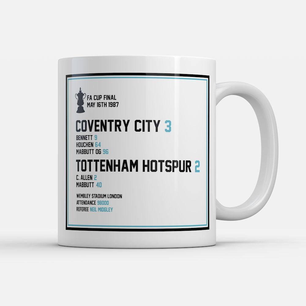 Coventry 1987 FA Cup Winners Mug-Mugs-The Terrace Store