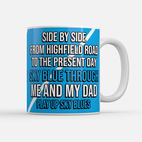 Coventry Side By Side Fathers Day Mug