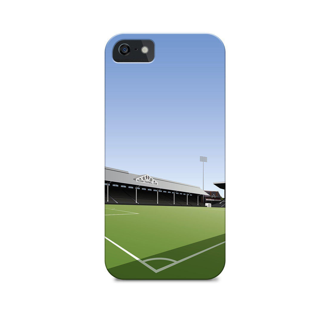 Craven Cottage Illustrated Phone Case-CASES-The Terrace Store