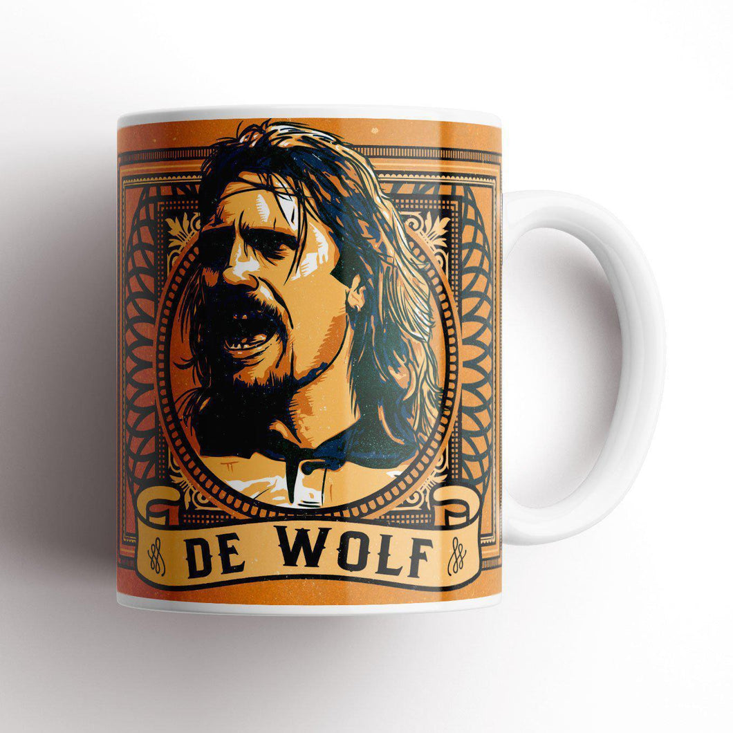 Grady Draws De Wolf Wolves Mug-Mugs-The Terrace Store