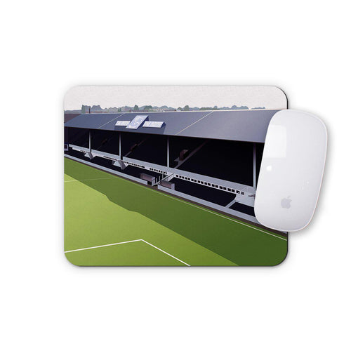 Baseball Ground Illustrated Mouse Mat-Mouse mat-The Terrace Store