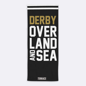 Derby Over Land & Sea Beach Towel