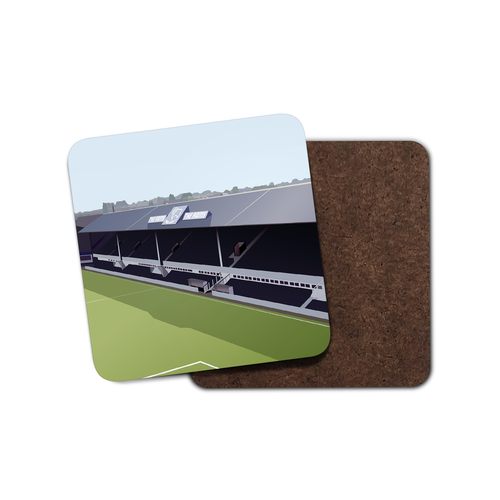 Baseball Ground Illustrated Coaster