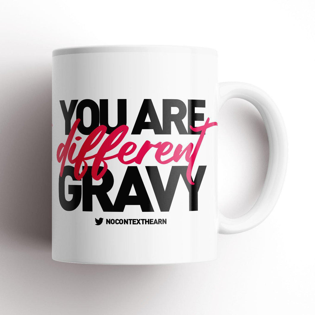 Different Gravy Valentines Edition Mug-NCH MUG-The Terrace Store