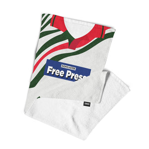 Doncaster Rovers 1994 Away Towel-Towels-The Terrace Store
