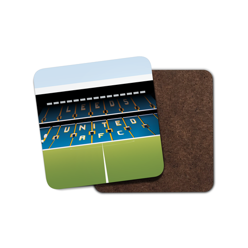 Elland Road Illustrated Coaster-Coaster-The Terrace Store