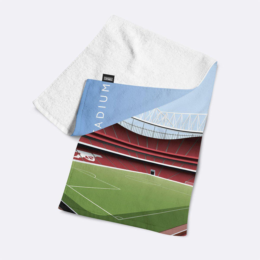 Emirates Illustrated Towel-Towels-The Terrace Store