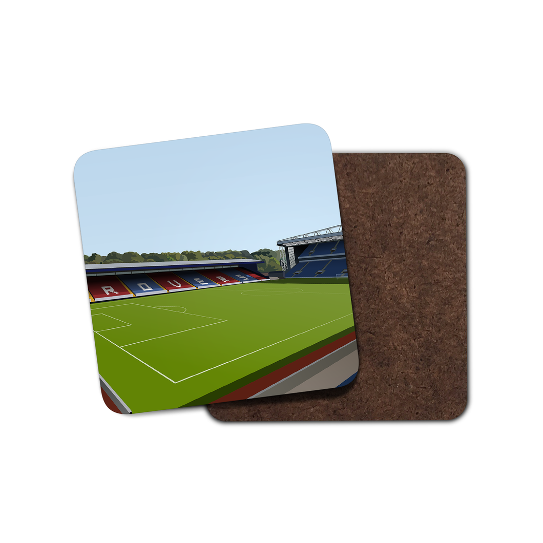 Ewood Park Illustrated Coaster-Coaster-The Terrace Store
