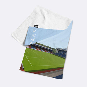 Ewood Park Illustrated Towel-Towels-The Terrace Store