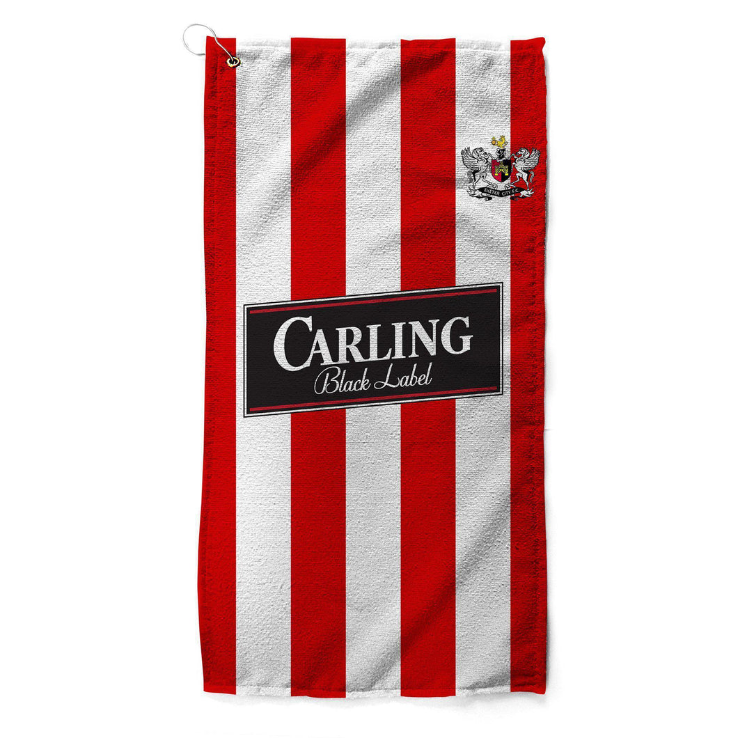 Exeter City 1993 Home Golf Towel-Golf Towels-The Terrace Store