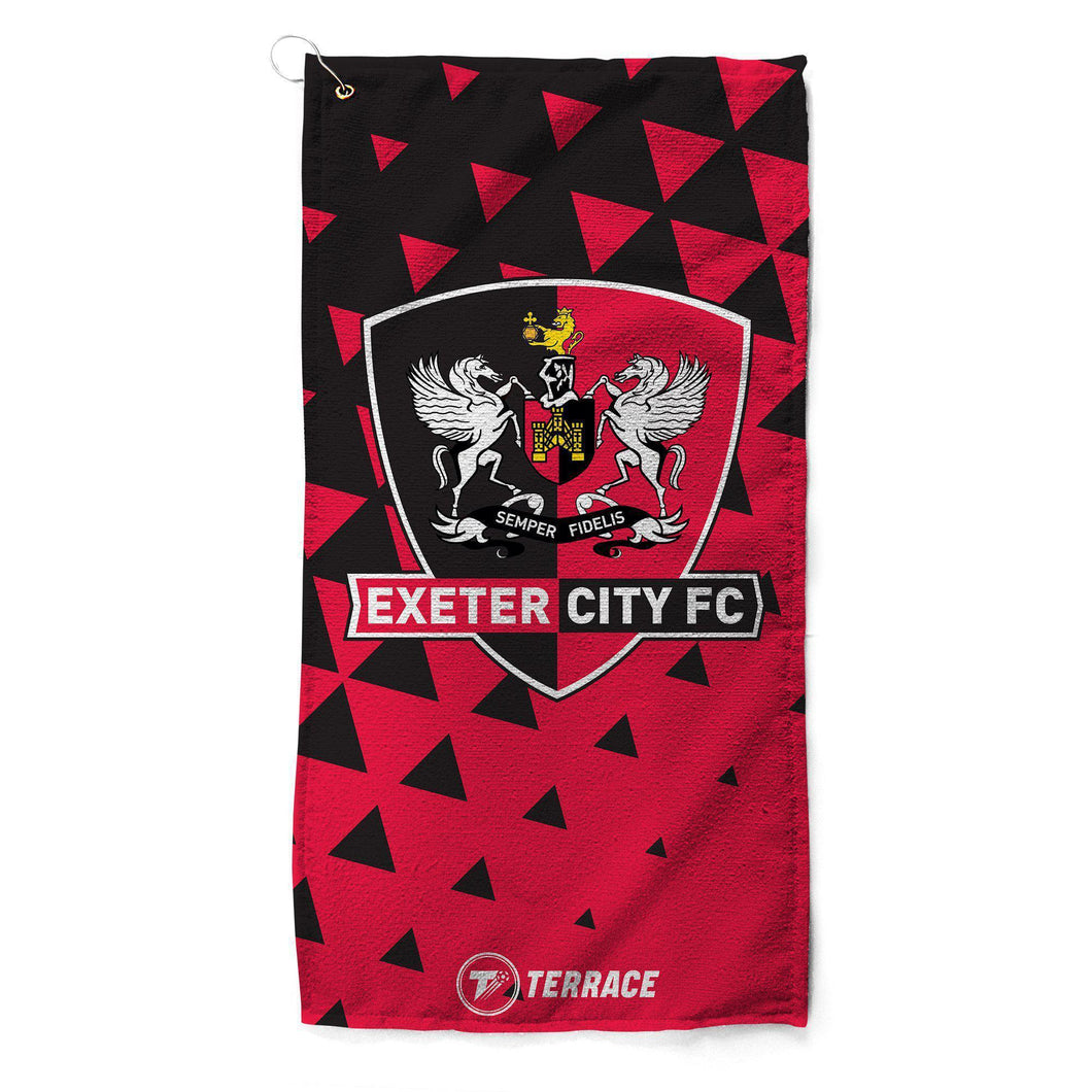 Exeter City Club Badge Golf Towel
