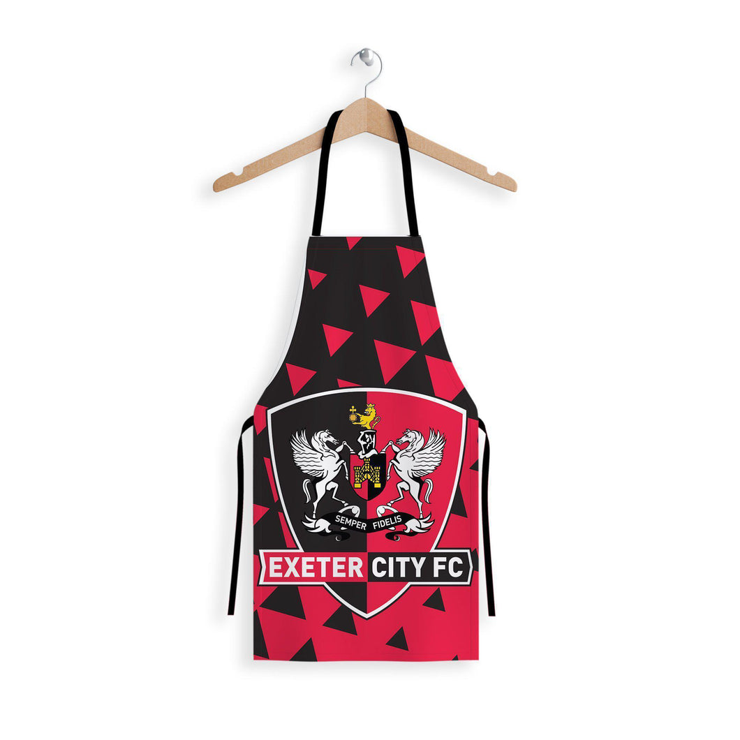 Exeter City Club Badge Apron-Aprons-The Terrace Store