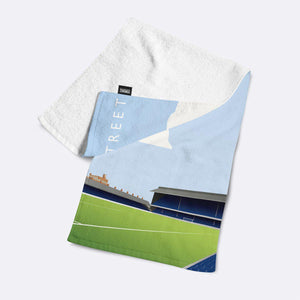 Filbert Street Illustrated Towel-Towels-The Terrace Store