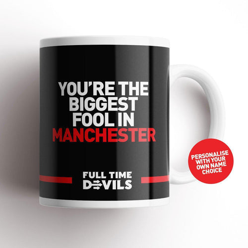 Full Time Devils Fool Mug-Mugs-The Terrace Store